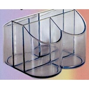 Plastic 5-Compartment Buffet Caddy/ Organizer