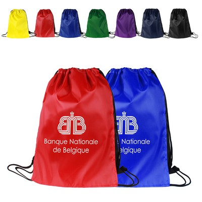 Super Hero Drawstring Backpack