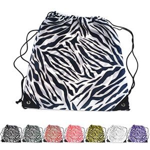 Drawstring Backpack, 210D Nylon 17.5
